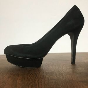 Tory Burch suede platform heels Size 8.5